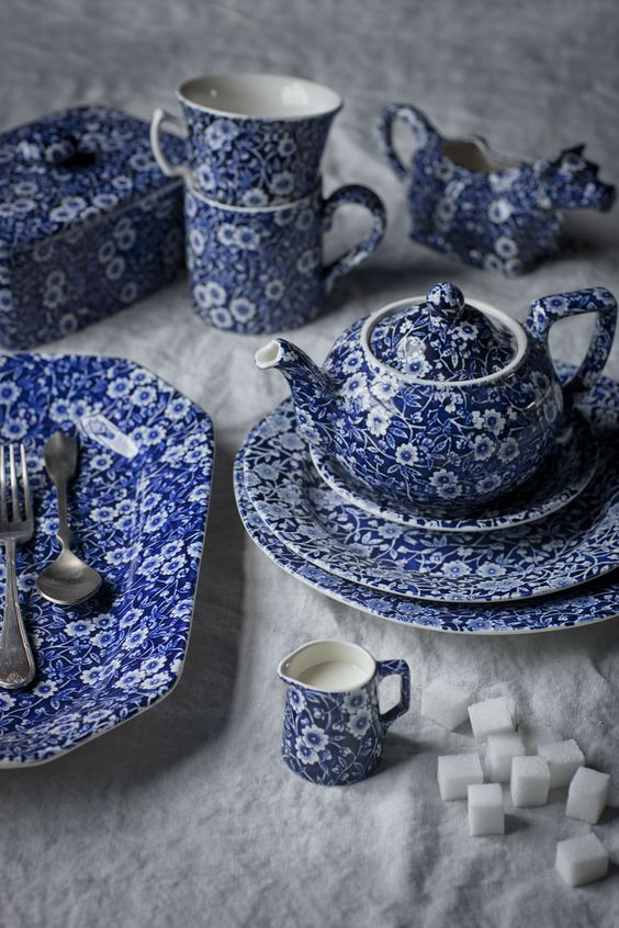 burleigh english tableware are truly iconic with their