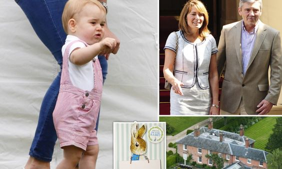 Prince George's Peter Rabbit birthday party: It's all been organised by Carole Middleton