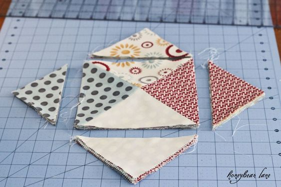 how to cut 10 by 10 quilt blocks