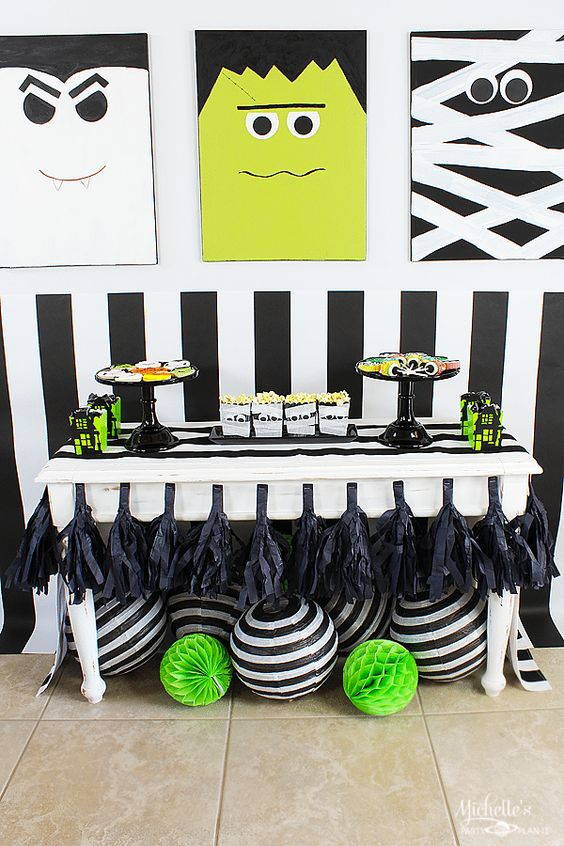 Monster Mash Party Ideas with Target Kid, Monsters and The o\u0027jays - kids halloween party decoration ideas
