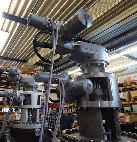 Refinery Adopts Actuation Technology To Automate Lift Plug Valves