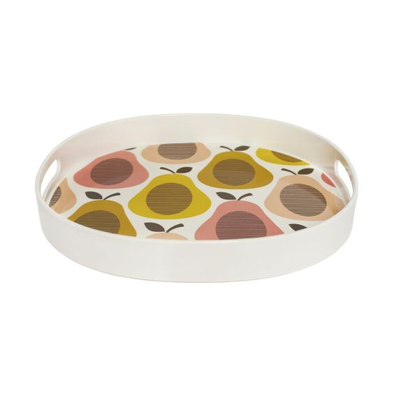 Discover the Orla Kiely Giant Pear Candy Floss Tray at Amara