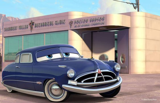 """Doc Hudson (a.k.a. The Fabulous Hudson Hornet or simply Doc) is the one of the two deuteragonists of Cars. He died prior to the events of Cars 2. """"Doc Hudson is a car of few words but many talents. He not only serves as the town judge, he's also Radiator Springs' resident doctor. Doc is respected and admired by the town's folk for the way he looks out for their health and tends to their aches and pains. No one knows too much about Doc before he came to town. He keeps his private life..."""