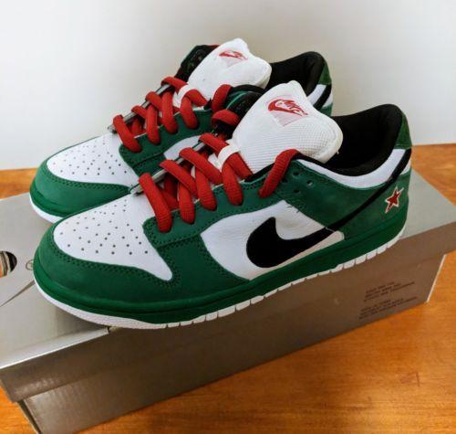 Nike SB Dunk Heineken size 8.5 VNDS 100