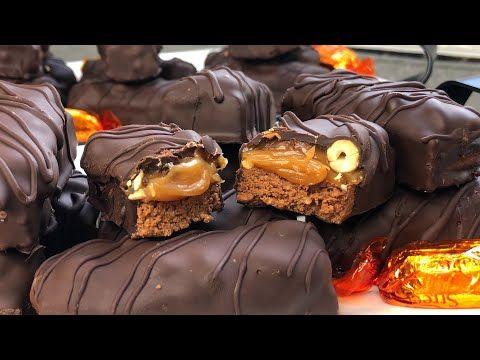 حلويات العيد 2020 الأكثر طلبا بدون طهي سنيكارز Recette Gateau Caramel Snickers Sans Cuisson Youtube Desserts Food Nutella