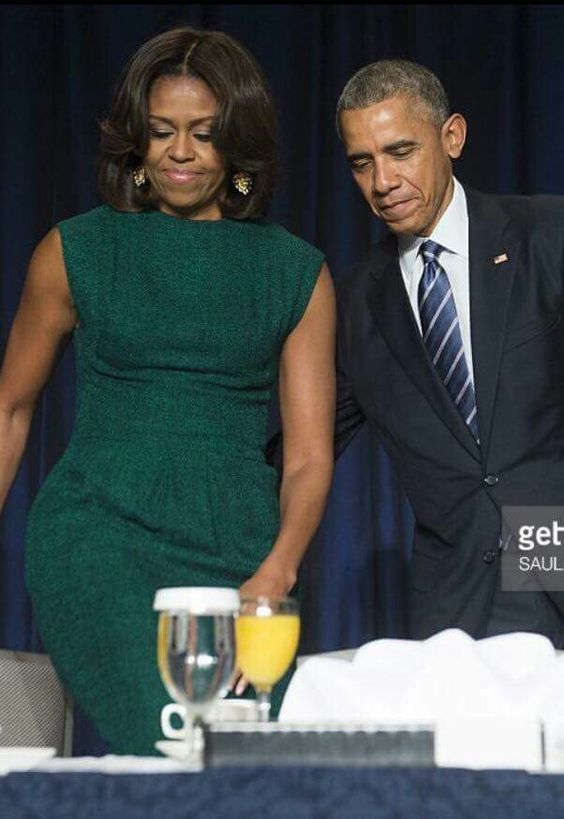 First Lady Michelle and President Barack Obama