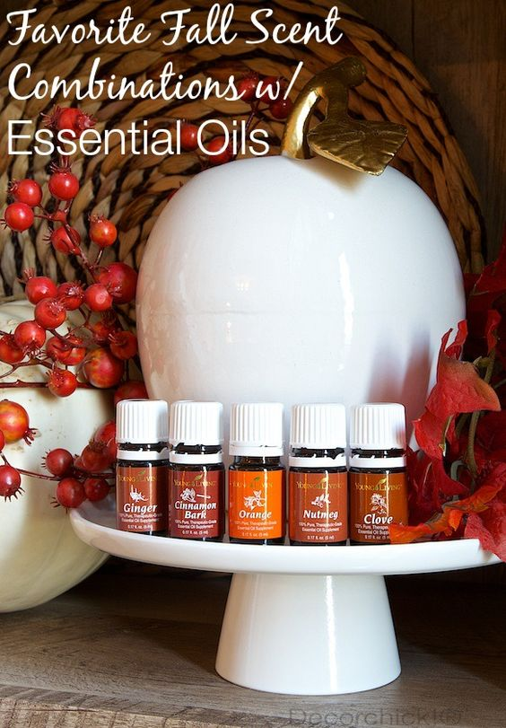 Fall Scent Combinations with Essential Oils