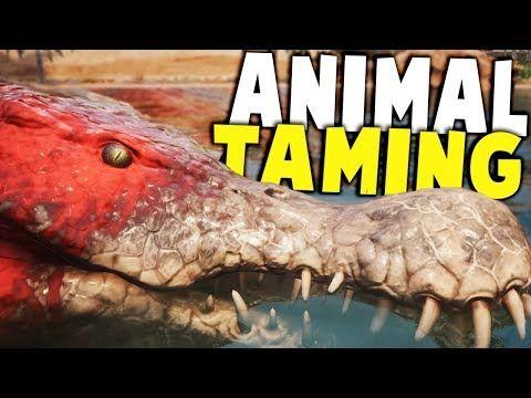 Cool Best Conan Animal Taming Mod Ever Creative Cages Conan Exiles Gameplay Conan Exiles Animals Fish Pet