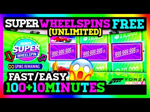 How To Get Free Wheelspins In Forza Horizon 4