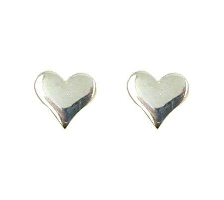 hart oorbellen zilver @ Intu jewelry design with meaning <3
