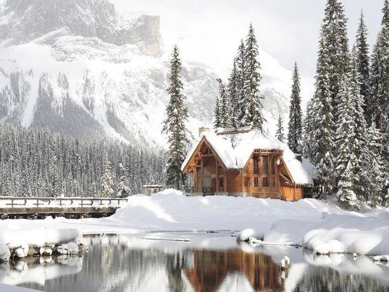 Emerald Lake Lodge Snowy Getaways Pinterest Canada