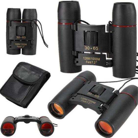 20 -  Mini Jumelle Spy de Vision Nocturne Zoom Telescope Monoculaire