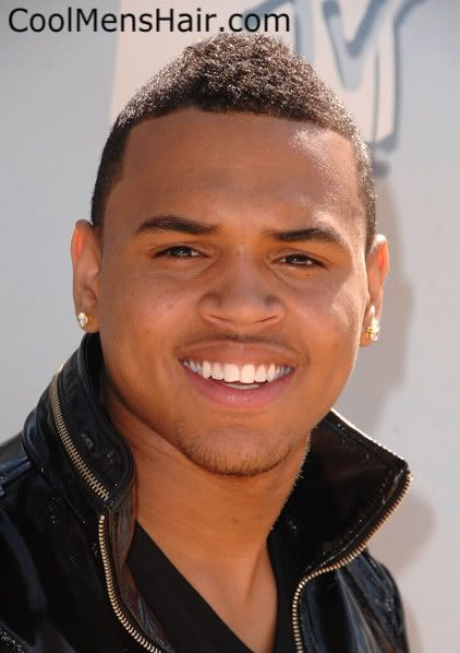 Marvelous Chris Brown Brown Shorts And Mohawks On Pinterest Hairstyle Inspiration Daily Dogsangcom