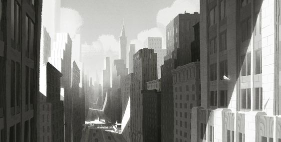 Paperman: 70 Original Concept Art Collection - Daily Art