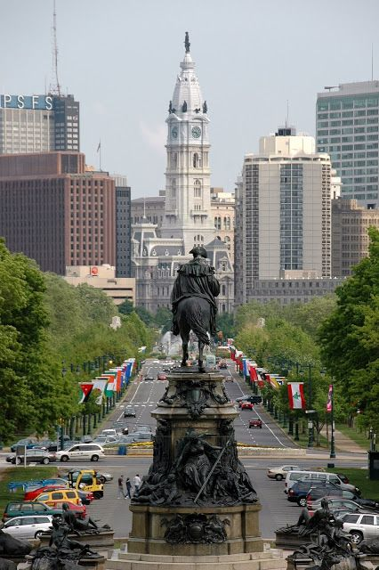 Philadelphia, PA. This shot reminds me of the opening of Action news!