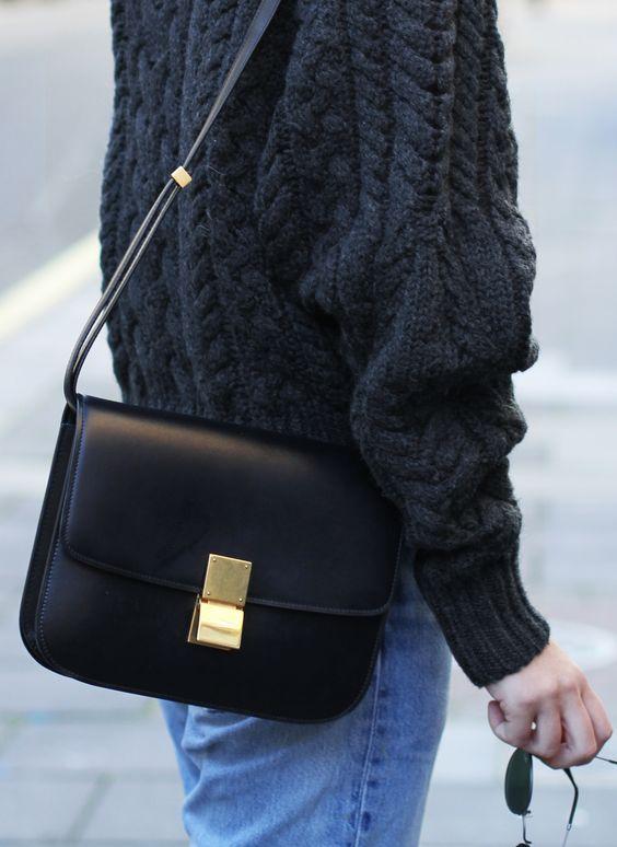 how much is a celine handbag - C��line box bag, Levis 501 & Isabel Marant knit. Via Mija | Mija ...
