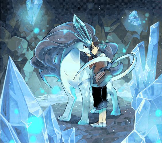 Suicune. Don't forget to like this Pokemon Facebook page for more cool Pokemon content: http://www.facebook.com/shinydragonairx