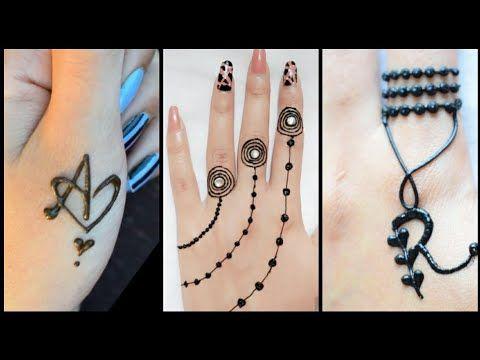 बह त स दर और आस न अर ब क म ह द ड ज इन New Arabic Mehndi Design By Sonia Goyal 495 म ह द ड ज इन Youtube Youtube Henna Cast Stranger Things