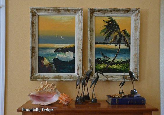 A Taste of Old Florida {Florida Highwaymen Paintings}