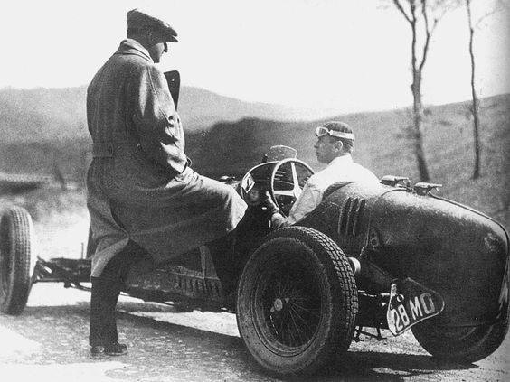 Enzo Ferrari and Achille Varzi