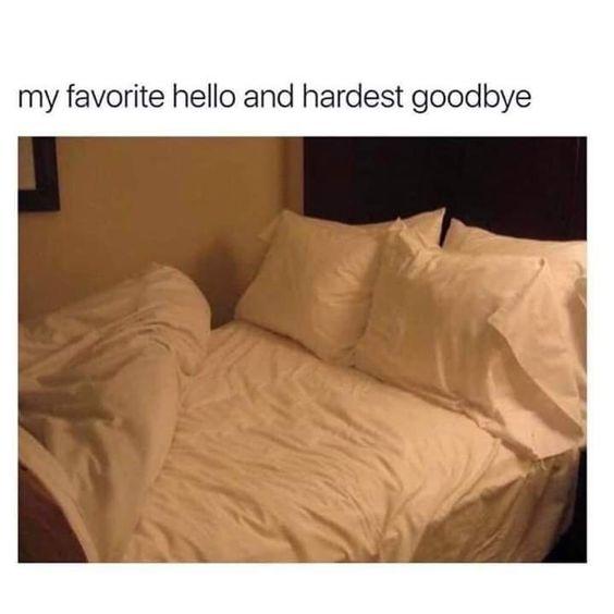 My favorite hello and hardest goodbye