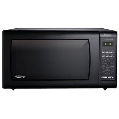 Panasonic 22 1 6 Cu Ft Countertop Microwave Countertop Microwave Oven Microwave Oven Black Microwave