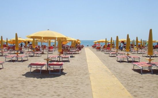 Lido di Jesolo is a purpose-built beach resort in north-east Italy, on the Adriatic Sea close to Venice. Its miles of sandy beach, rows of sunbeds and night-time entertainment attract thousands of holidaymakers every summer.