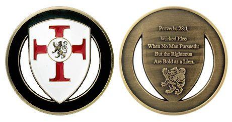 PROVERBS 28:1 COIN 2013 ITEM # CC-1186