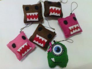 craft felt keychains - Google Search