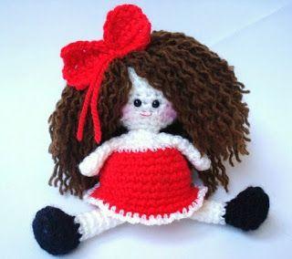 AllSoCute Amigurumis: Amigurumi Girl Doll Pattern