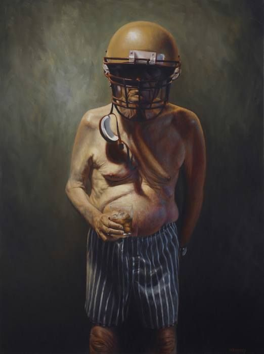 Image result for old football player funny