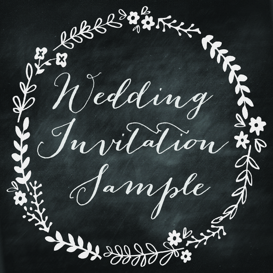 Eco Handmade Wedding Invitations