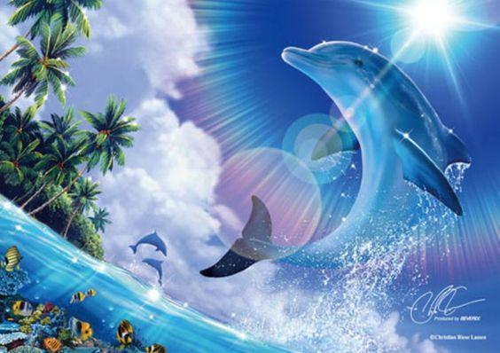 ◆希少品◆108ピースジグソーパズル:シャイニング プレジャー(CRラッセン)《廃番商品》 - 組絵門(くみえもん)