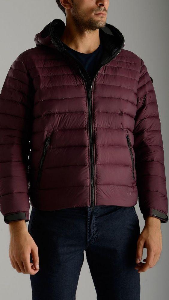 AI Riders On The Storm - Zip up waterproof plum jacket