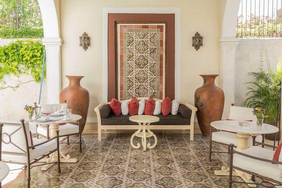 CASA LECANDA, uno de los mejores hoteles premium que se encuentran en el estado de Yucatán, una antigua casa restaurada que ahora es uno de los  hotspots de Mérida.