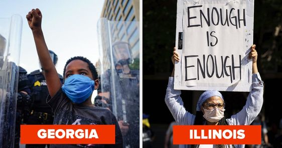 50 Moving Photos Of Black Lives Matter Protests In All 50 States Black Lives Matter Protest Black Lives Matter Lives Matter