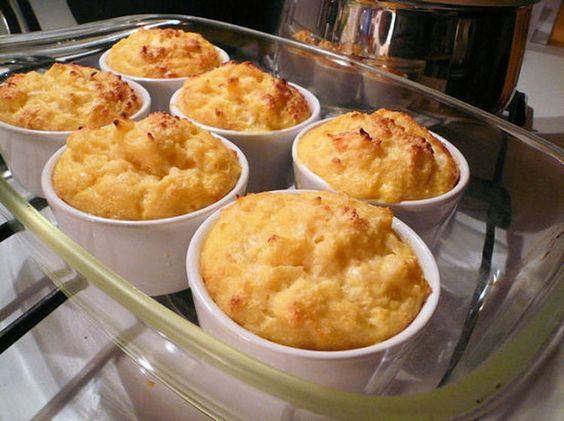 Soufflé léger au chou-fleur et au fromage