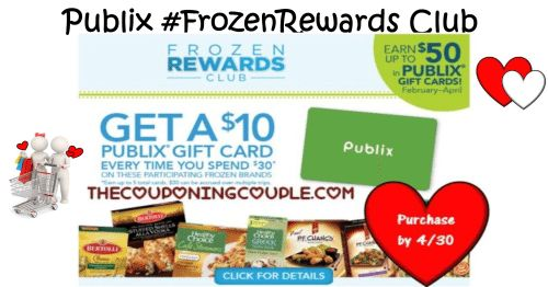 This shop has been compensated by Collective Bias, Inc. and its advertiser. All opinions are mine alone. #FrozenRewards#CollectiveBias  Publix Shoppers! Join the Frozen Rewards Club, Earn Gift C