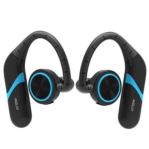 True Wireless Earbuds Amzluv Bluetooth Wireless Headphones Best Sport Earphones Ipx6 Waterproof Swea Wireless Earbuds Wireless Headphones Cordless Headphones