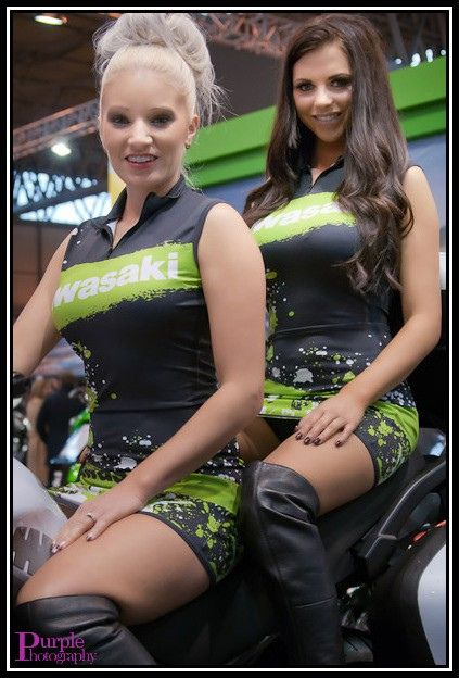 Kawasaki's finest by Purple Togging, via Flickr