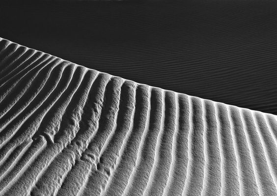 Sand dunes in Jordan. Nature can give so much inspiration for patterns in design. By Jordan Ek.