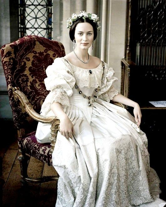 "Emily Blunt as Queen Victoria in ""The Young Victoria"""
