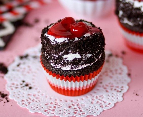 Black Forest Cupcakes - easy and delicious