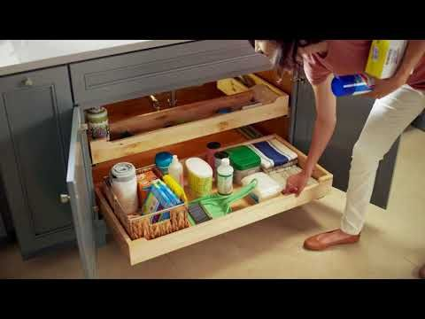 Kraftmaid Sink Base Roll Out Trays Kraftmaid Sink Kraftmaid Cabinets