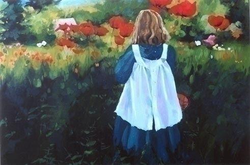 "Sheena Lott, oil painting, ""Poppy, BC,Canada   ( #Art #Painting)  http://www.sheenalott.com/"