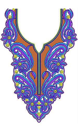 Bohemian Stylish Embroidery Design
