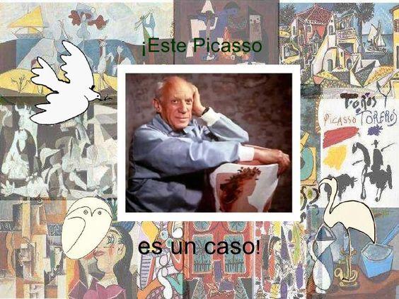 Máis actividades sobre Picasso