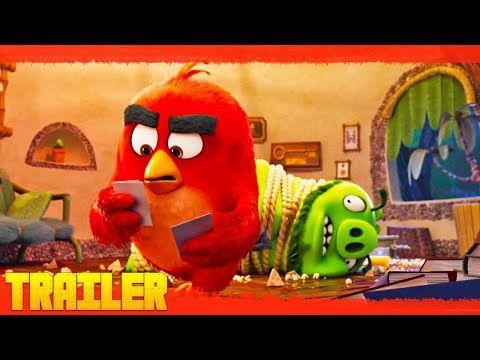 Ver Descargar Angry Birds 2 La Película Completa Online En Esta Nueva Aventura Tanto Los Cerdos Como Los Pájaros Tráiler Oficial Peliculas Angry Birds