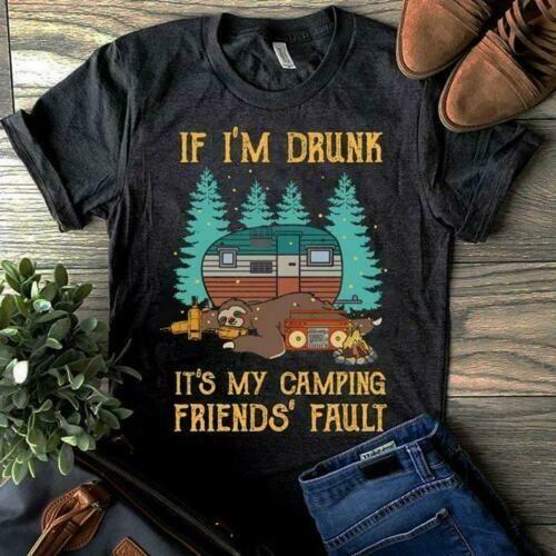 Drunk AF Dark Heather Adult T-Shirt