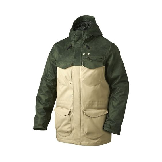 official oakley online store  shop oakley blackhawk 2 biozone? insulated jacket in herb smoke at the official oakley online